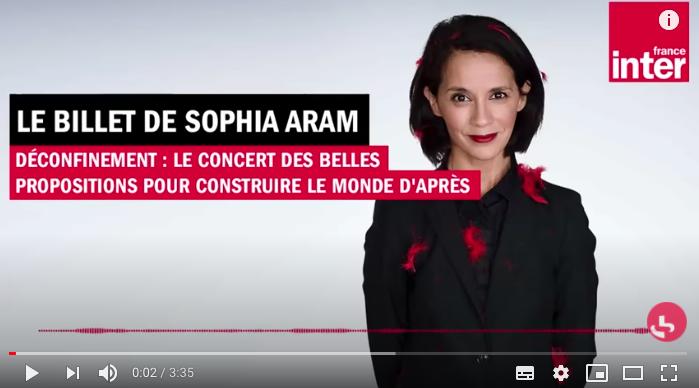 La nature a horreur du vide… Chère Sophia Aram.